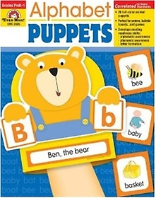 Alphabet Puppets (Paperback)