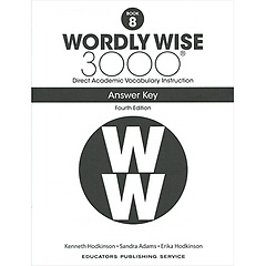 """<font title=""""Wordly Wise 3000 :  Book 8 Answer Key  (Paperback/4th Ed.)"""">Wordly Wise 3000 :  Book 8 Answer Key  (...</font>"""