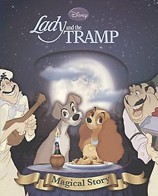 """<font title=""""Disney Lady and the Tramp: Magical Story (Hardcover)"""">Disney Lady and the Tramp: Magical Story...</font>"""