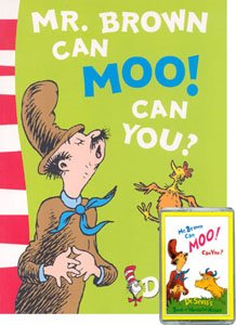 [노부영]Mr. Brown Can Moo! Can You? (Paperback+ CD)