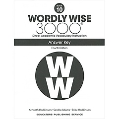 """<font title=""""Wordly Wise 3000 :  Book 10 Answer Key (Paperback/4th Ed.)"""">Wordly Wise 3000 :  Book 10 Answer Key (...</font>"""