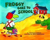 Froggy Goes to School (Paperback/ Reprint Edition)