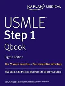 """<font title=""""Kaplan USMLE Step 1 Qbook (Paperback / 8th Ed.)"""">Kaplan USMLE Step 1 Qbook (Paperback / 8...</font>"""