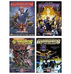 가디언즈 오브 더 갤럭시 Vol. 1~4 패키지