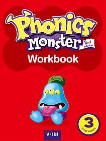 """<font title=""""Phonics Monster 3: WorkBook (Paperback/ 2nd Ed.)"""">Phonics Monster 3: WorkBook (Paperback/ ...</font>"""