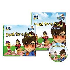 """<font title=""""EBS 번개맨의 영어나라 CD 세트 - Food for a Picnic"""">EBS 번개맨의 영어나라 CD 세트 - Food for...</font>"""