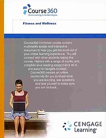 """<font title=""""Course360 Fitness and Wellness Printed Access Card (Hardcover)"""">Course360 Fitness and Wellness Printed A...</font>"""