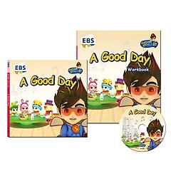 """<font title=""""EBS 번개맨의 영어나라 CD 세트 - A Good Day"""">EBS 번개맨의 영어나라 CD 세트 - A Good D...</font>"""