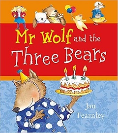 Mr Wolf and the Three Bears (Paperback)