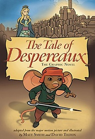 """<font title=""""The Tale of Despereaux: The Graphic Novel (Paperback/ Movie Tie-In Edition)"""">The Tale of Despereaux: The Graphic Nove...</font>"""