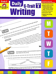 """<font title=""""Daily 6-Trait Writing, Grade 8 (Paperback)"""">Daily 6-Trait Writing, Grade 8 (Paperbac...</font>"""