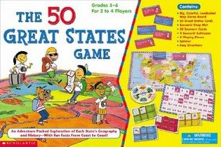 The 50 Great States Game (Paperback)
