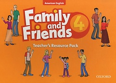 """<font title=""""American Family and Friends 4 : Teacher"""