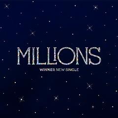위너(Winner) - MILLIONS [Single Album][WHITE LIGHT Ver.]