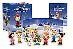 """<font title=""""A Charlie Brown Christmas Wooden Collectible Set"""">A Charlie Brown Christmas Wooden Collect...</font>"""