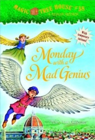 "<font title=""Merlin Mission #10 : Monday with a Mad Genius(Paperback/ Reprint Edition)"">Merlin Mission #10 : Monday with a Mad G...</font>"