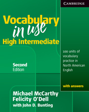 "<font title=""Vocabulary in Use: High Intermediate with Answers (Paperback/ 2nd Ed.)"">Vocabulary in Use: High Intermediate wit...</font>"