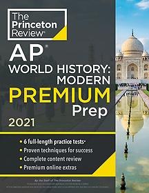 """<font title=""""Princeton Review AP World History: Modern Premium Prep, 2021 (Paperback)"""">Princeton Review AP World History: Moder...</font>"""
