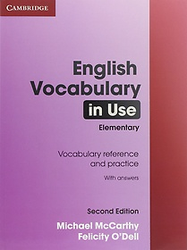 "<font title=""English Vocabulary in Use with Answers: Elementary (Paperback/ 2nd Ed.)"">English Vocabulary in Use with Answers: ...</font>"