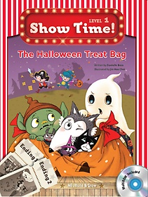 "<font title=""Show Time Level 1-10 : The Halloween Treat Bag (Story Book + MultiRom)"">Show Time Level 1-10 : The Halloween Tre...</font>"