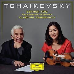 차이코프스키: 바이올린 협주곡과 소품집 - 에스더 유, 필하모니아 오케스트라, 블라디미르 아슈케나..