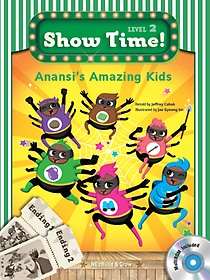 """<font title=""""Show Time Level 2-9 : Anansi`s Amazing Kids  (Story Book + MultiRom)"""">Show Time Level 2-9 : Anansi`s Amazing K...</font>"""