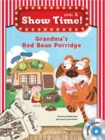 "<font title=""Show Time Level 1-9 : Grandma`s Red Bean Porridge SET (Story Book + MultiRom + Work Book)"">Show Time Level 1-9 : Grandma`s Red Bean...</font>"