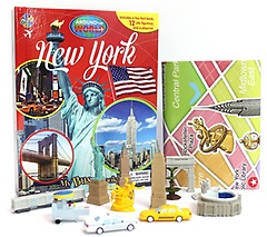 """<font title=""""뉴욕 New York - Around the World My Busy Book (Board Book+피규어 세트)"""">뉴욕 New York - Around the World My Busy...</font>"""