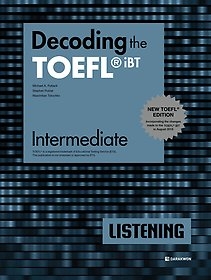 "<font title=""Decoding the TOEFL iBT LISTENING Intermediate (New TOEFL Edition)"">Decoding the TOEFL iBT LISTENING Inter...</font>"
