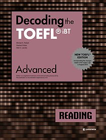"<font title=""Decoding the TOEFL iBT READING Advanced (New TOEFL Edition)"">Decoding the TOEFL iBT READING Advance...</font>"