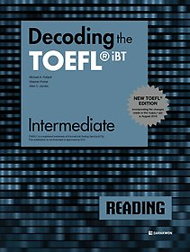 "<font title=""Decoding the TOEFL iBT READING Intermediate (New TOEFL Edition)"">Decoding the TOEFL iBT READING Interme...</font>"
