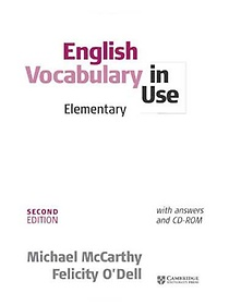 "<font title=""English Vocabulary in Use with Answers: Elementary (Paperback+CD-ROM/ 2nd Ed.)"">English Vocabulary in Use with Answers: ...</font>"