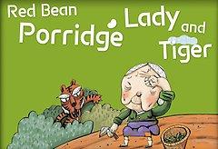 "<font title=""외갓집 동화마을 영문판 33 - Red Bean Porridge Lady and Tiger (팥죽 할머니와 호랑이)"">외갓집 동화마을 영문판 33 - Red Bean P...</font>"
