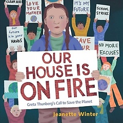 """<font title=""""Our House Is on Fire: Greta Thunberg"""