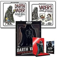 스타워즈:다스 베이더와 아들+스타워즈:베이더의 꼬마 공주님+Darth Vader in a Box 패키지