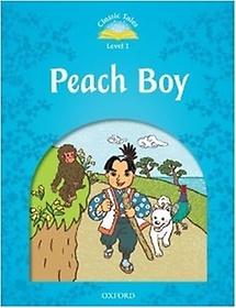 Classic Tales Level 1 Peach Boy (Paperback)