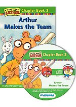 Arthur Chapter Book 3. Arthur Make the Team (Paperback+CD)