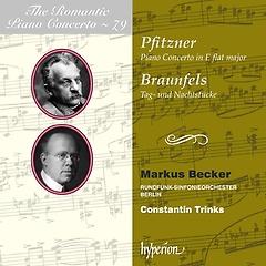 낭만주의 피아노 협주곡 시리즈 Vol.79: 피츠너 / 브라운펠스 - 마르쿠스 베커, 베를린 방송 교향악단..