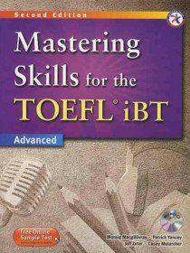 New Mastering TOEFL iBT 4 Skills : Combined Book with MP3 CD (Paperback+ MP3 CD)