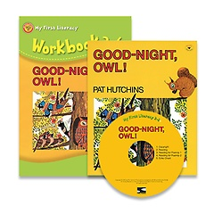 """<font title=""""Good-Night, Owl! : My First Literacy 2-6 (Paperback + Workbook + Audio CD:1)"""">Good-Night, Owl! : My First Literacy 2-6...</font>"""