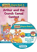 Arthur Chapter Book 4. Arthur and the Crunch Cereal Contest (Paperback + CD)