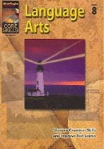 "<font title=""Core Skills : Language Arts - Grade 8 (Paperback)"">Core Skills : Language Arts - Grade 8 (P...</font>"