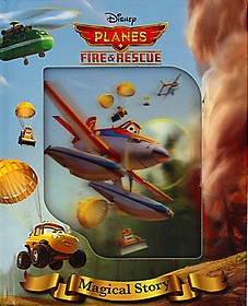 """<font title=""""Disney Planes Fire & Rescue: Magical Story With Lenticular (Hardcover)"""">Disney Planes Fire & Rescue: Magical Sto...</font>"""