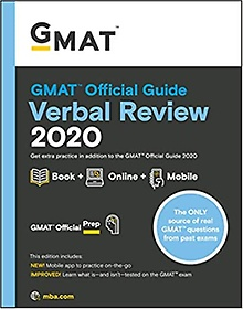 """<font title=""""GMAT Official Guide 2020 Verbal Review (Paperback/ 1st Edition)"""">GMAT Official Guide 2020 Verbal Review (...</font>"""