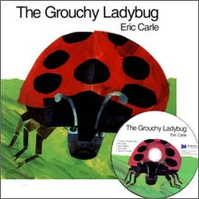 [��ο�]The Grouchy Ladybug (Boardbook+ CD)