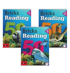 Bricks Reading 50 1-3권 패키지 세트
