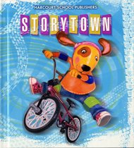 Story Town Grade 2.1: Rolling Along Student Book (Hardcover) ... ★ 사본CD 3장 포함 ★ 앞부분 문제풀이부분 몇장 연필지운 자