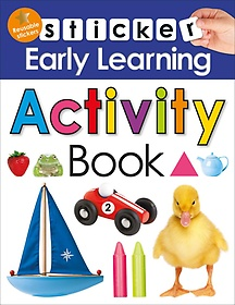 "<font title=""Sticker Early Learning Activity Book (Hardcover)"">Sticker Early Learning Activity Book (Ha...</font>"