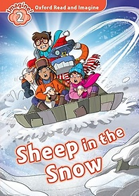"""<font title=""""Oxford Read & Imagine 2: Sheep in the Snow (Student Book)"""">Oxford Read & Imagine 2: Sheep in the Sn...</font>"""