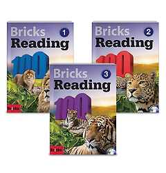 Bricks Reading 100 1-3권 패키지 세트